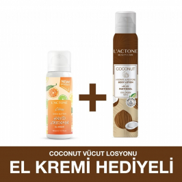 Lactone Coconut Panthenol Plus Body Lotion 200 ml